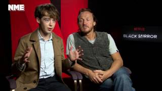 Alex Lawther & Jerome Flynn Discuss Chilling Cybercrime In Black Mirror's