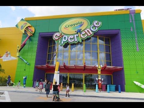 We Get Creative At Crayola Experience Orlando FL