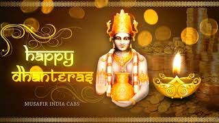 happy dhanteras 2019 wishes by best cab services