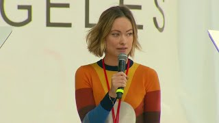 Olivia Wilde Speaks Out During March for Our Lives