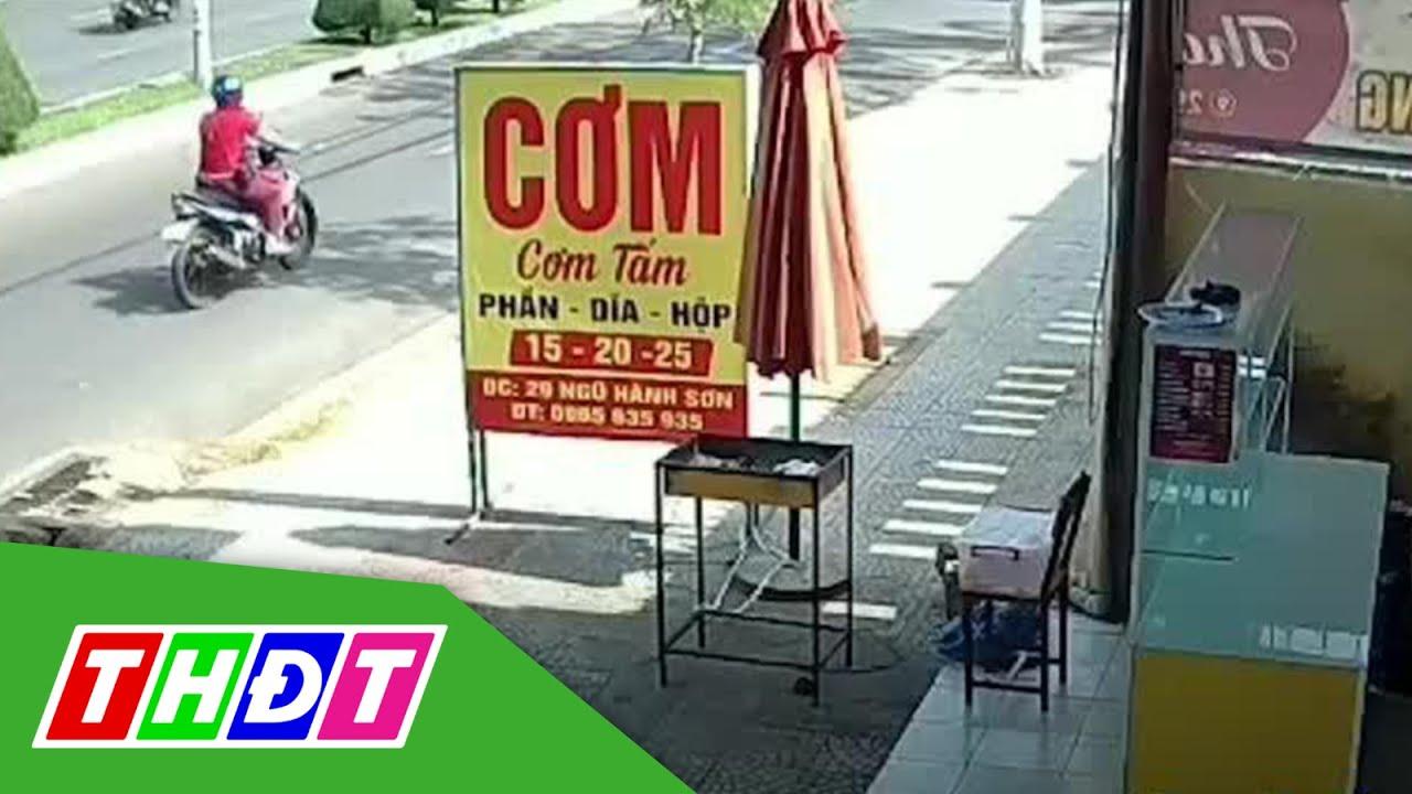 Đà Nẵng: Người phụ nữ trộm thùng thịt của quán cơm | THDT