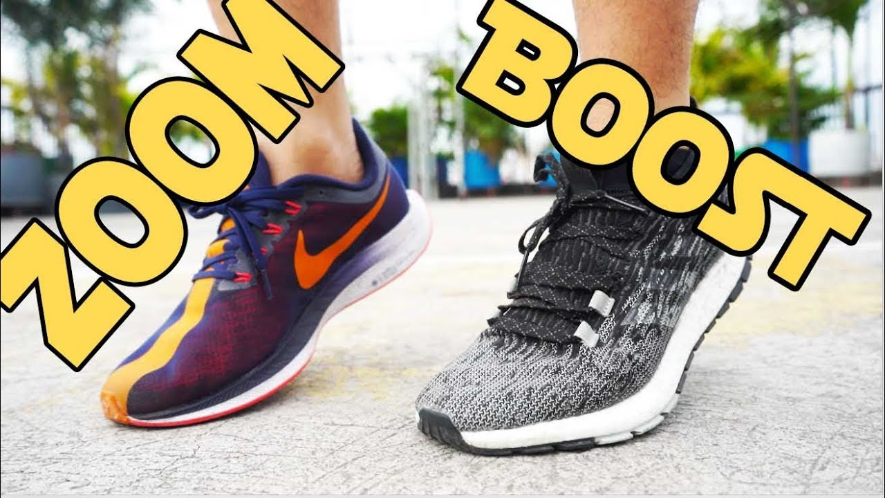 nike pegasus 35 vs adidas ultra boost