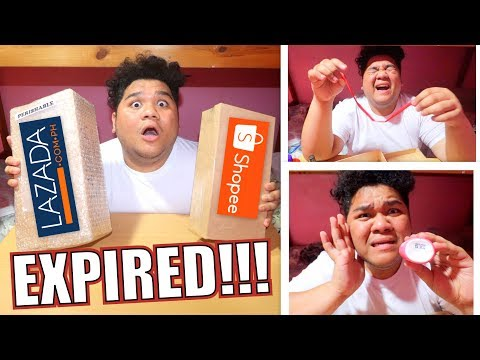 SINO ANG SCAM?!! LAZADA VS SHOPEE MYSTERY BOX   LC VLOGS #256