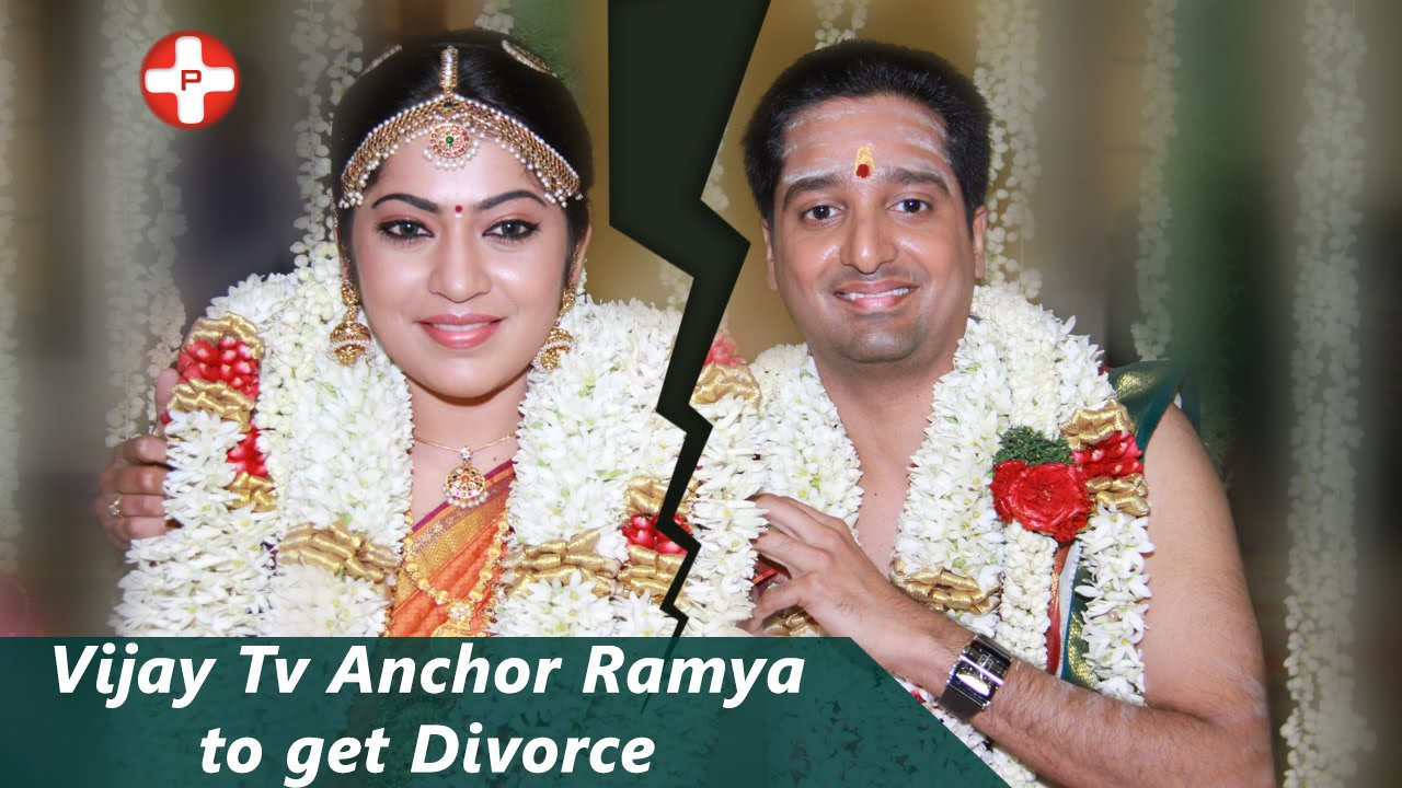 Vijay Tv Anchor Ramya To Get Divorce
