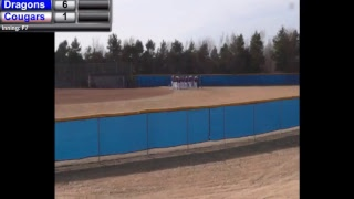 Blue Dragon Softball at Barton - Game 1