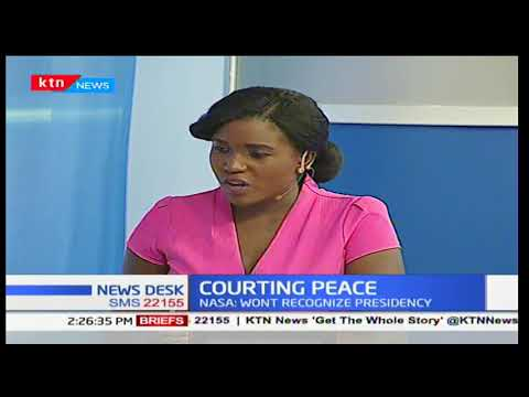 COURTING PEACE: Availability of political and tribal division amongst Kenyans