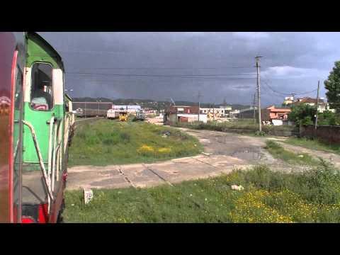 HSH T 669 1042 + 1057 Treni nr. 20 Durrës - Tiranë - Mitfahrt - Albanian Railways