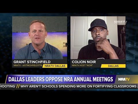 "Grant Stinchfield Tells Dallas' Dwain Caraway's ""NRA is Already Here"""