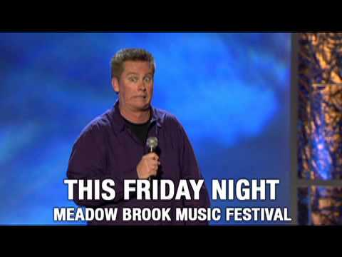 Brian Regan @ Meadow Brook Music Festival