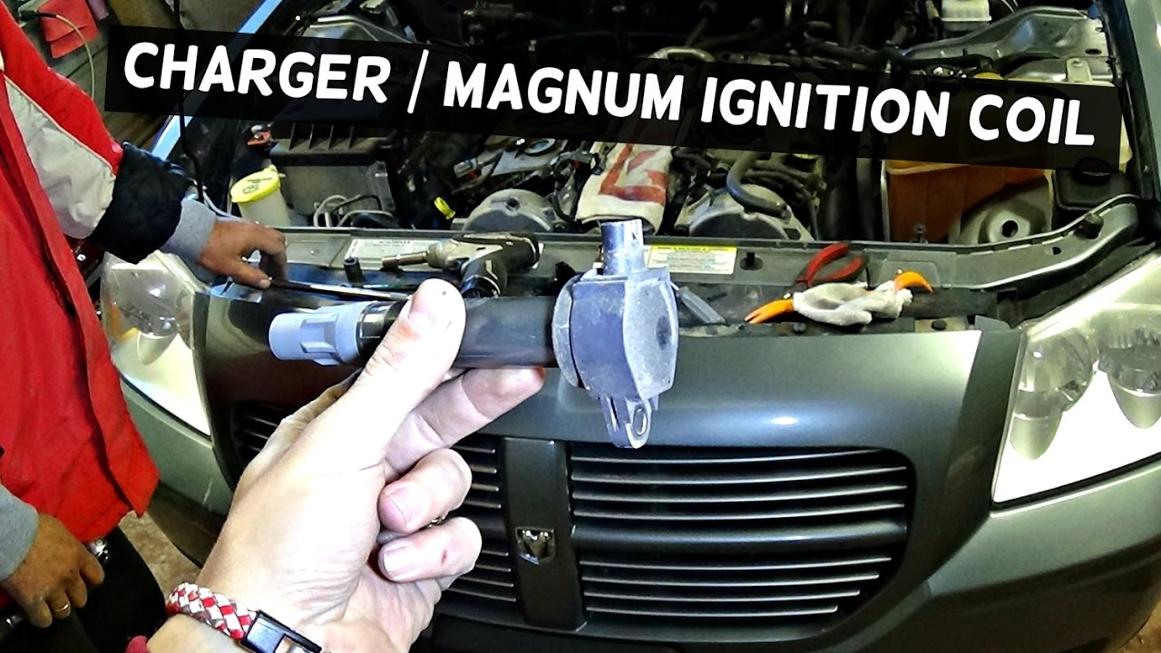 DODGE CHARGER IGNITION COIL CODE FIX P0351 P0352 P0353 P0354 P0355