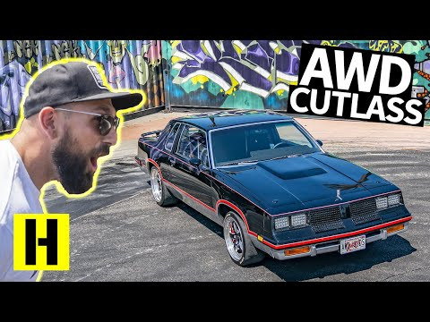 All Wheel Drive 1000hp Cutlass!? Carbon Fiber G Body Launches HARD