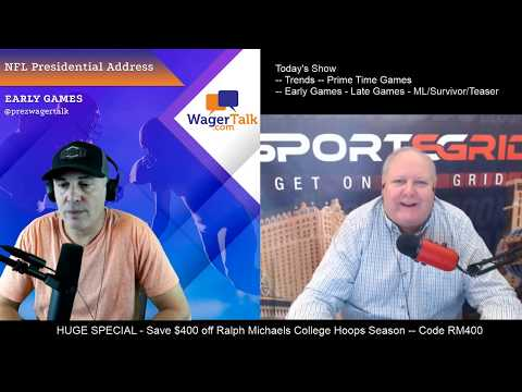 🏈 Prezidential Address With Ralph Michaels And The Prez ( NFL Week 8 Picks And Predictions )