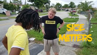 Size matters ft. MadWhiteJamaican [Comedy Sketch]