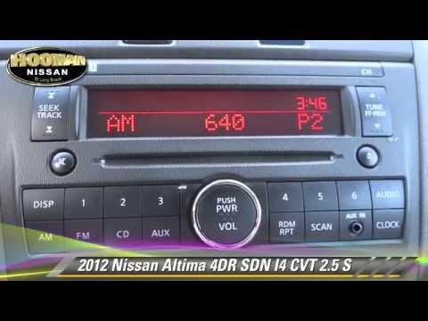 2012 Nissan Altima 2 5 S Long Beach Gardena Downey