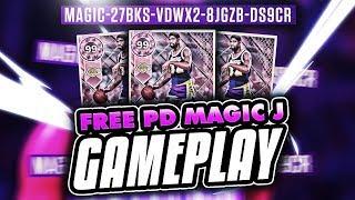 FREE LOCKERCODE PINK DIAMOND MAGIC JOHNSON GAMEPLAY! TIPS TO GET THE NEXT CODE! NBA 2K18 MYTEAM
