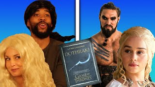 We Learned Dothraki In A Week To Recreate A Game Of Thrones Scene