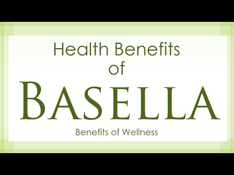 Health Benefits of Basella vine spinach - Amazing and Super Vegetables - Benefits of Wellness