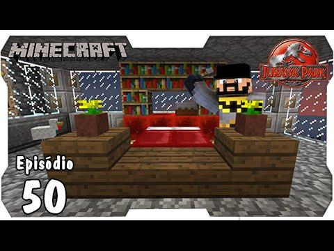 Minecraft jurassic park 50 monta construtor super cama for Cama minecraft