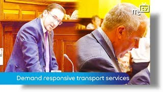 Demand responsive transport services