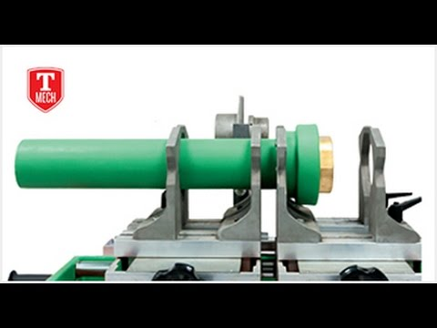 PPR PIPE INSTALLATION PPR PIPE WELDING PROCESS - YouTube
