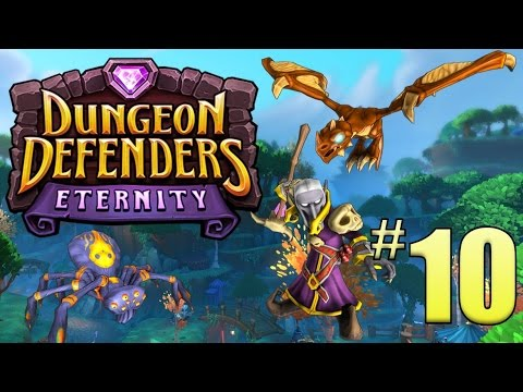 [10] QUIET! This Is A Library! (Dungeon Defenders: Eternity)