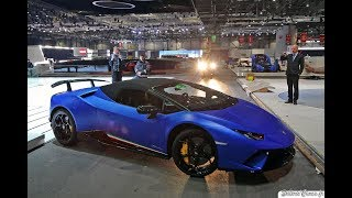 Lamborghini Huracan Performante Spyder - Loud Sound & Driving