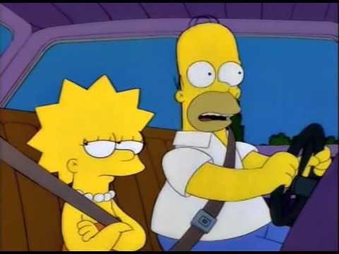 When YOU'RE Driving, We Can Listen To YOUR Radio Station (The Simpsons)