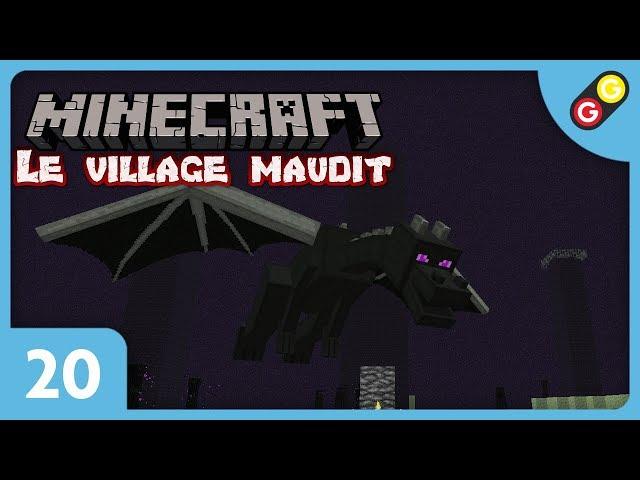 Minecraft - Le village maudit #20 Gadu VS Dragon ! [FR]