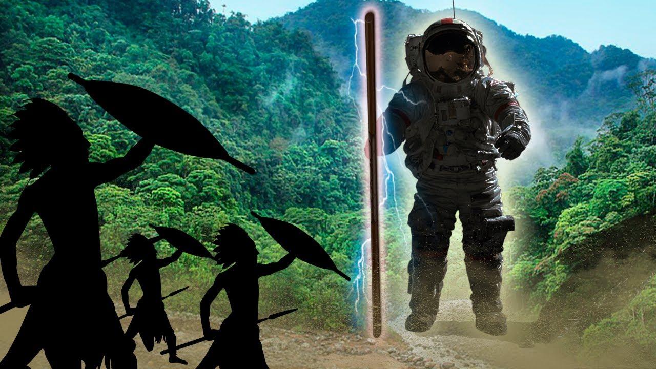Der Weltraumkrieger, Der Mit Einem Indigenen Stamm Im Amazonas Lebte