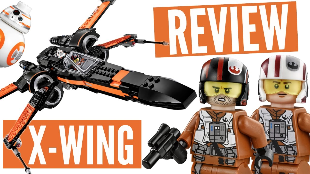 Lego star wars poe s x wing fighter review 75102 youtube - Lego Review Poe S X Wing Fighter 75102