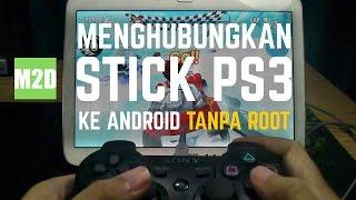 Cara Menghubungkan Stick PS3 ke Android TANPA Root dengan Sixaxis Enabler