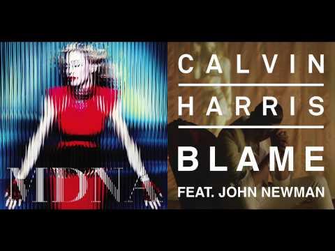 Madonna vs Calvin Harris (Feat. John Newman) - Beautiful Blame