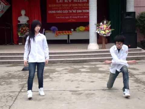 Trần Nguyên Thảo.giải 2 nữ sinh tài năng THPT Trần Hưng Đạo,nam định 2k11