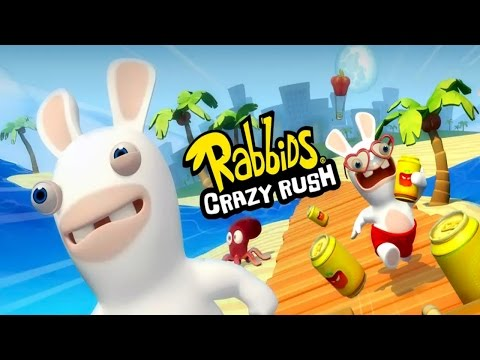 rabbids-crazy-rush-(by-ubisoft-entertainment)-android-gameplay-[hd]