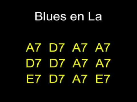 Blues en La (blues in A) Playback