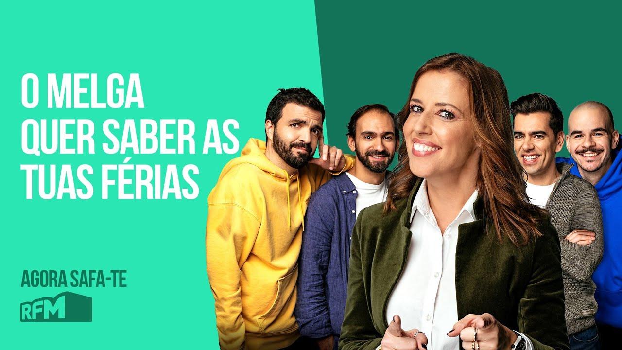 "EP90 - ""O MELGA QUER SABER AS TUAS FÉRIAS"" - AGORA SAFA-TE"