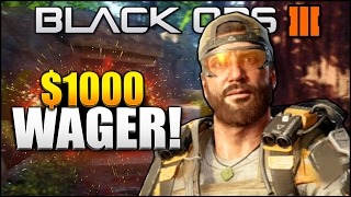 BO3 CRAZY $1000 1v1 WAGER! (Black ops 3 Sniping 1v1 Wager)