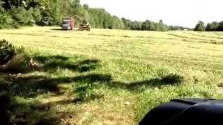 Hay Farming in Maine