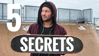 MY 5 SECRETS TO SKATE MINI RAMP LIKE A PRO