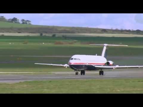 QinetiQ Final Flight of BAC 1-11