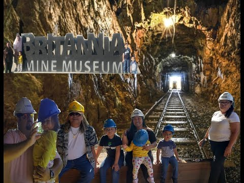 Britannia Mine Museum Vancouver Canada With Vincent's Family