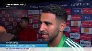 #CAN2019 : réaction de Riyad Mahrez à la victoire de  l'Algérie, championne d'Afrique de Football