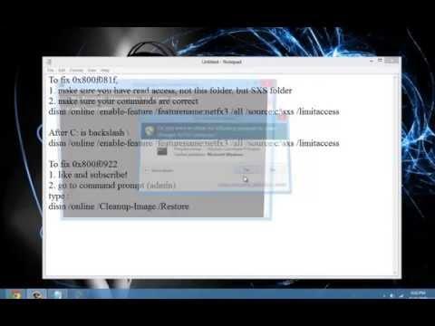 Windows update standalone installer error windows 8