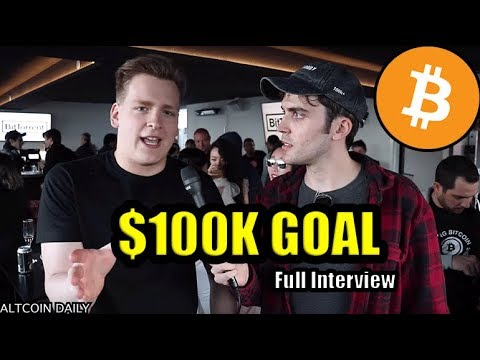 """I Do Think Bitcoin Will Go To $100,000."" Full Ivan on Tech Interview [Tron Event In San Francisco]"