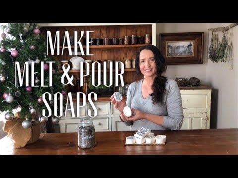 MAKE LAVENDER MELT AND POUR SOAP