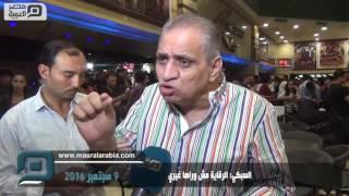 بالفيديو  السبكي: الرقابة مش وراها غيري