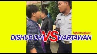 Dishub Bersitegang Dengan Wartawan !! Viral !!