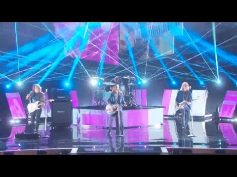 America's Got Talent 2015 S10E23 Semi-Finals Rd.2 - 3 Shades of Blue Rock Band