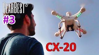 Uygun Fiyatlı Profesyonel Drone CX-20 İncelemesi - Gearbest (3)