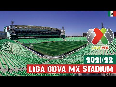 Liga BBVA MX Stadium 2021/22  Mexico